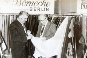 Günter Börnecke - Messe in den 70iger Jahren