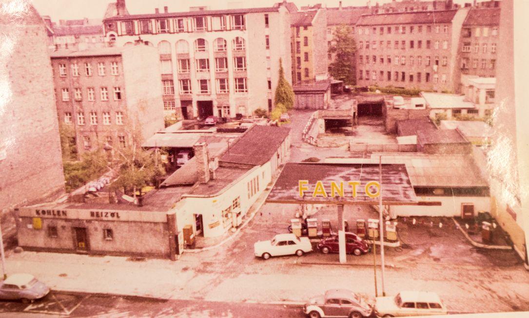 Fabrikgebäude Urbanstraße 100 - 60iger Jahre